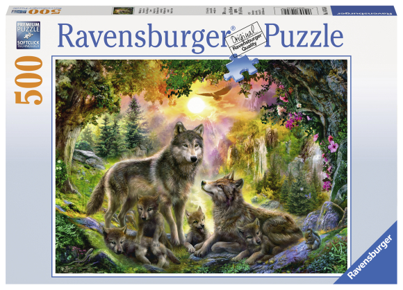 Ravensburger pusle Hundipere 500tk