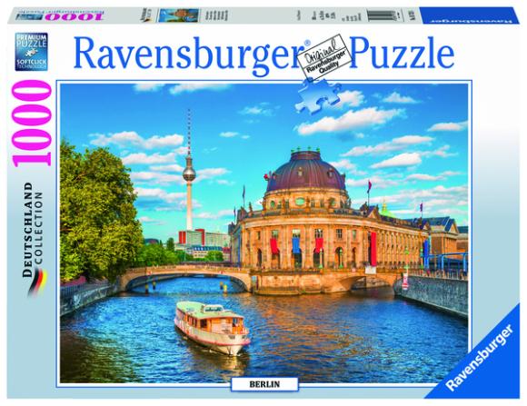 Ravensburger pusle Berliini muuseum 1000tk