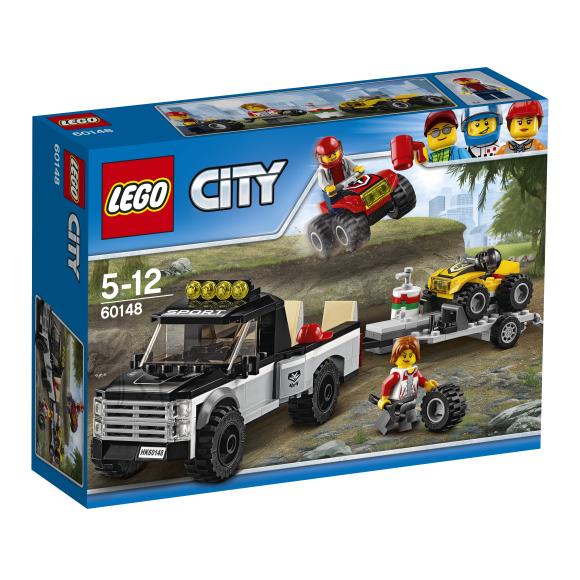 LEGO City ATV võidusõidumeeskond