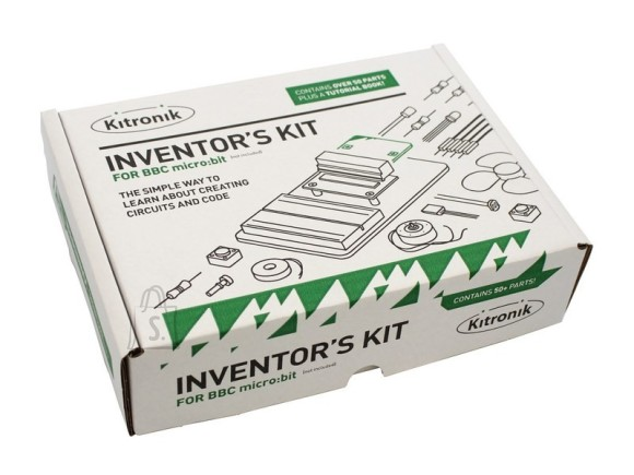 Kitronik BBC micro:bit leiutaja komplekt 10 eksperimendiga