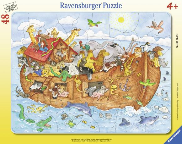 Ravensburger plaatpusle Noa laev 48tk