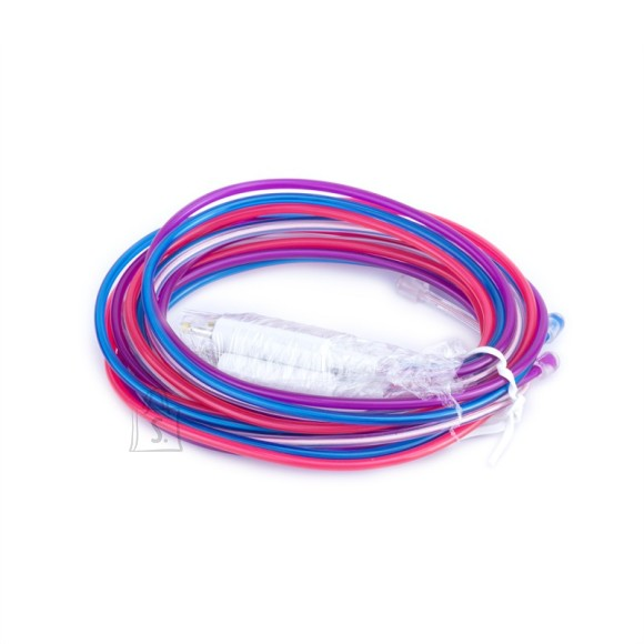 Neuron elektroluminestsents juhtmed (sinine, lilla, roosa ja valge)