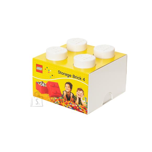 LEGO hoiuklots 4 valge