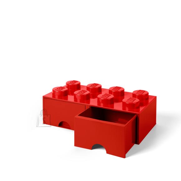 LEGO hoiusahtel 8 punane