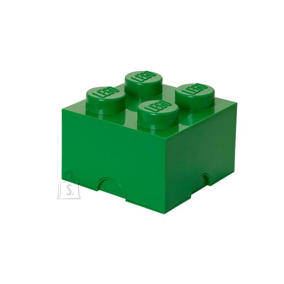 LEGO hoiuklots 4 roheline