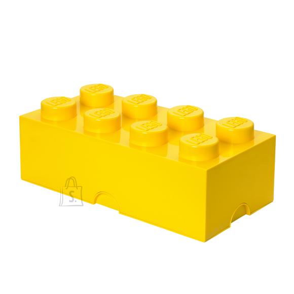 LEGO kollane hoiuklots 8