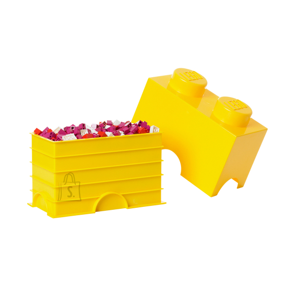 LEGO kollane hoiuklots 2