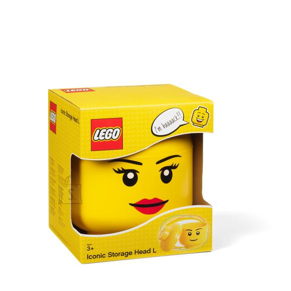 LEGO suur peakujuline hoiukarp tüdruk