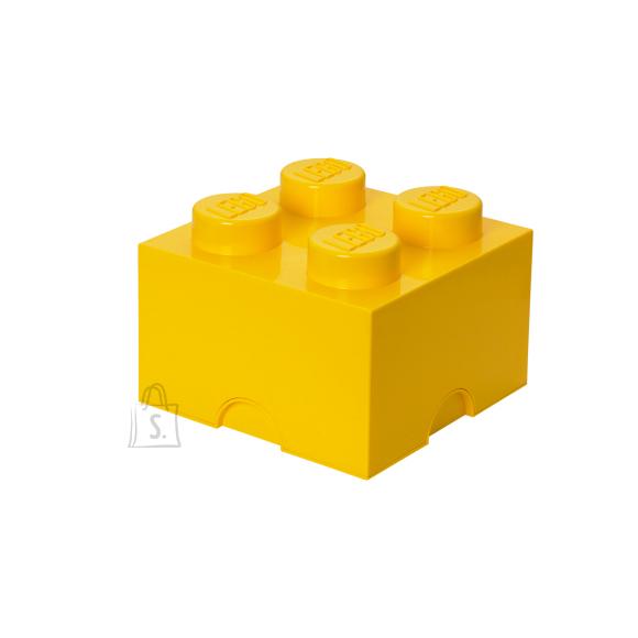 LEGO kollane hoiuklots 4