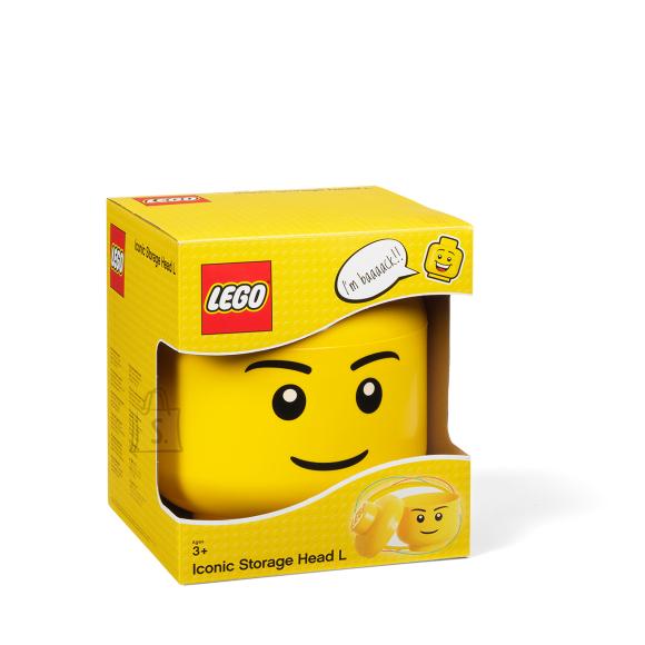 LEGO suur peakujuline hoiukarp poiss
