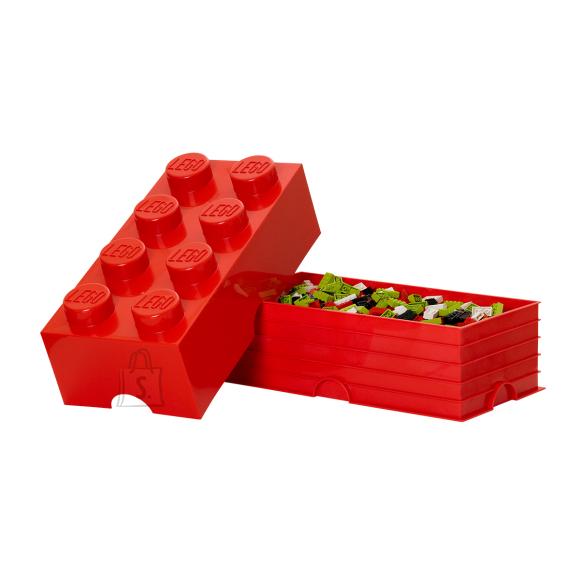 LEGO punane hoiuklots 8