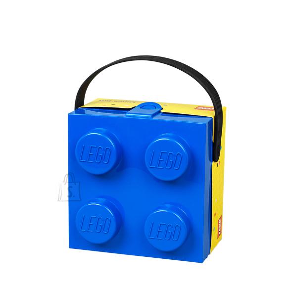 LEGO sinine hoiuklots 4 sangaga