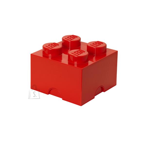 LEGO punane hoiuklots 4