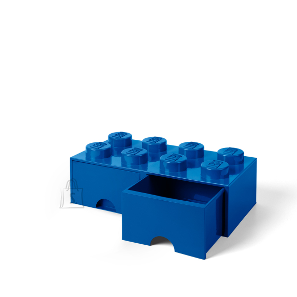 LEGO sinine hoiusahtel 8