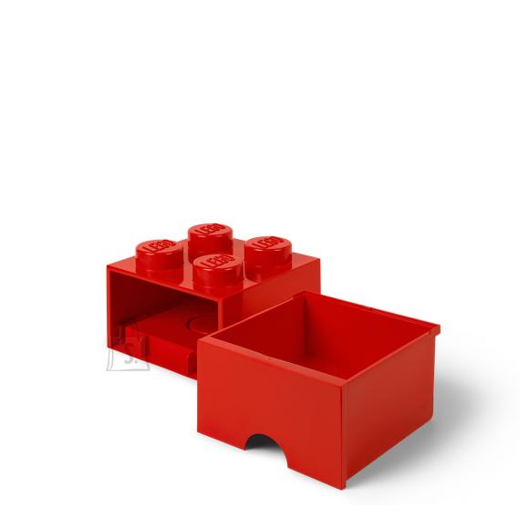 LEGO punane hoiusahtel 4