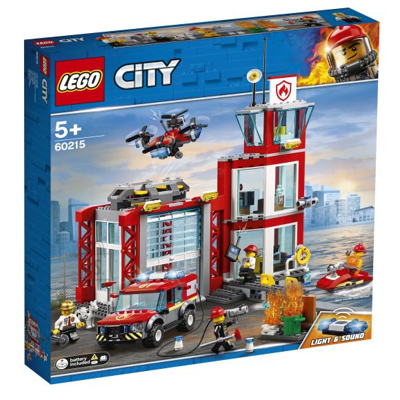 LEGO LEGO City Tuletõrjedepoo