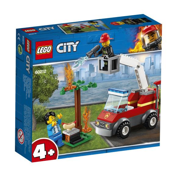LEGO LEGO City Grilli läbipõletamine