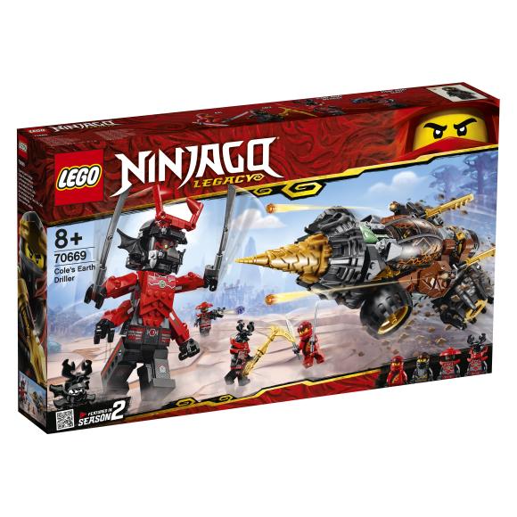 LEGO LEGO Ninjago Cole´i maapuur