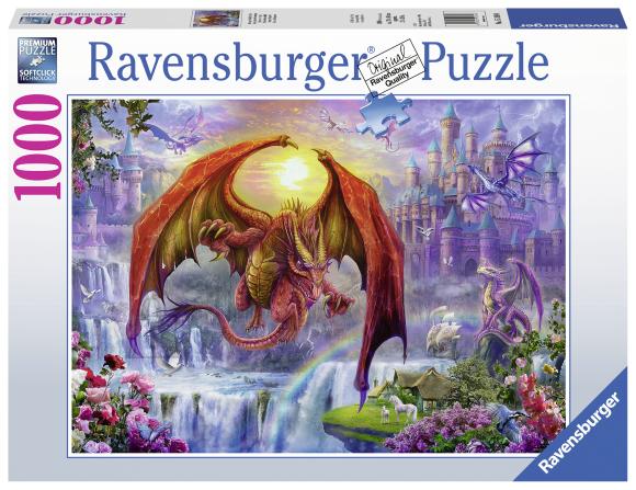 Ravensburger Ravensburger pusle 1000 tk Draakonite kuningas
