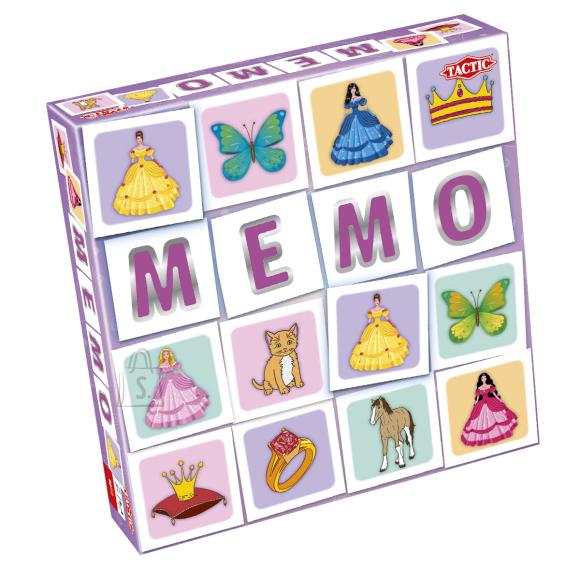 Tactic lauamäng Memo Printsessid
