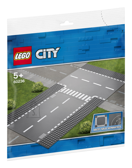 LEGO LEGO City sirge rööbas ja T-ristmik