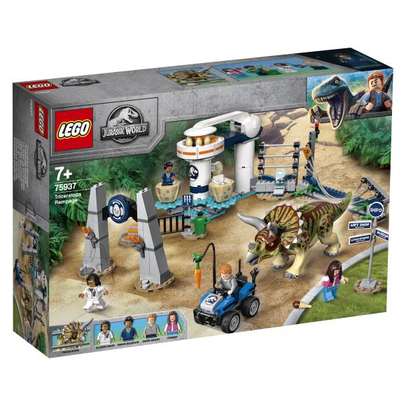 LEGO LEGO Jurassic World Triceratopsi rünnak
