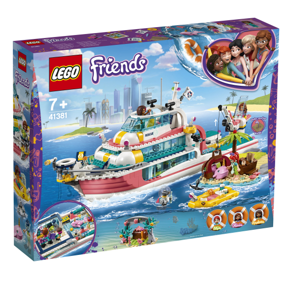 LEGO LEGO Friends Päästemissiooni paat