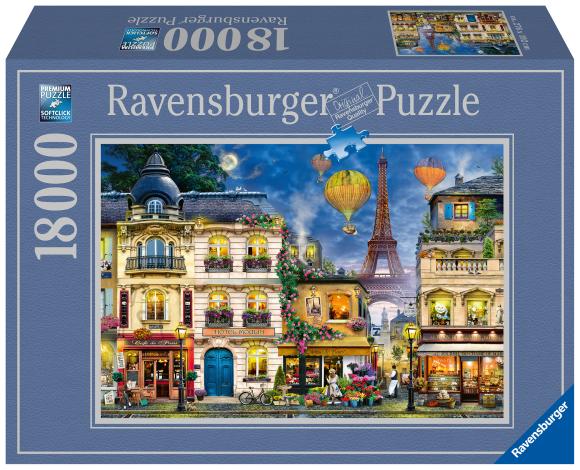 Ravensburger Ravensburger pusle 18000 tk Õhtune jalutuskäik Pariisis
