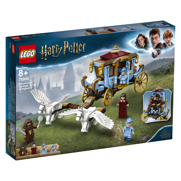LEGO LEGO Harry Potter Beauxbatonsi kaarik : saabumine Sigatüüka lossi