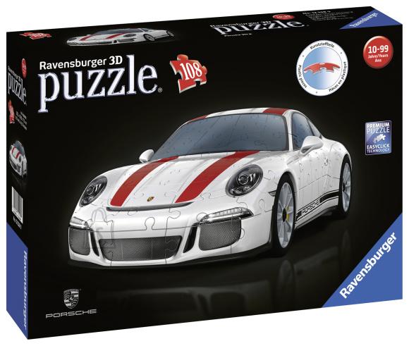 Ravensburger 3D pusle Porsche 911 108 tk