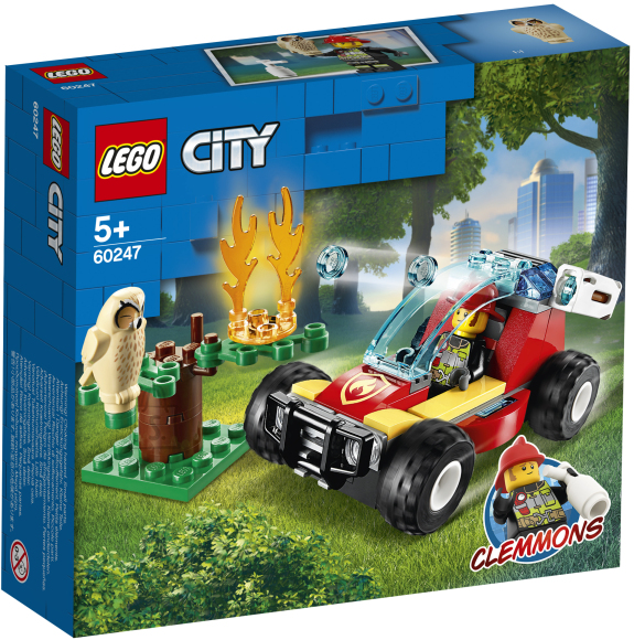 LEGO LEGO City Metsatulekahju