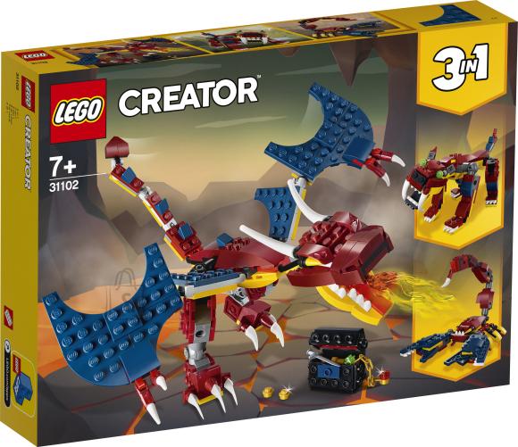 LEGO LEGO Creator Tuledraakon