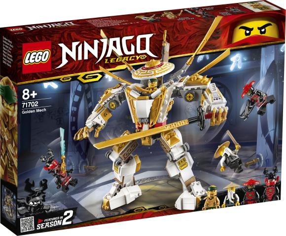 LEGO LEGO Ninjago Kuldne robot