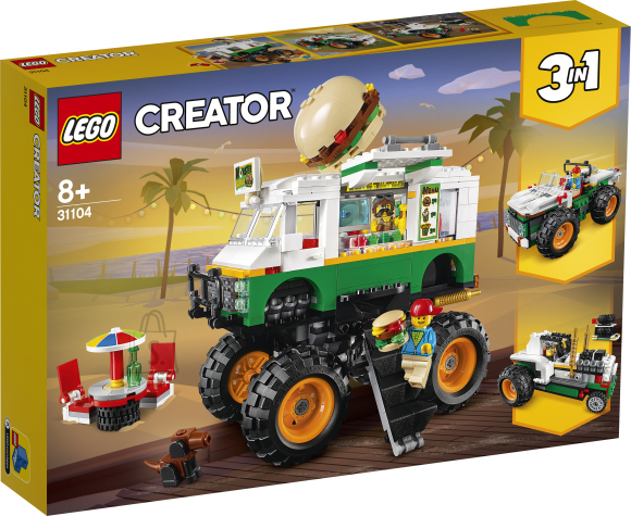 LEGO LEGO Creator Monsterburgeriauto