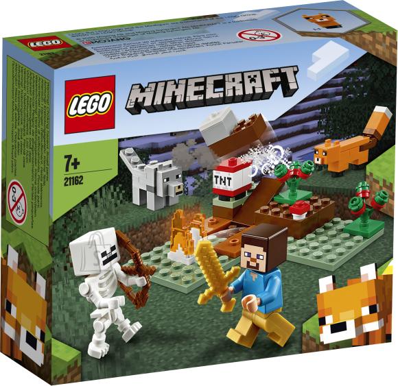 LEGO LEGO Minecraft Seiklus taigas