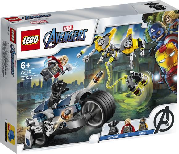 LEGO LEGO Super Heroes Tasujate rünnak kiirrattal