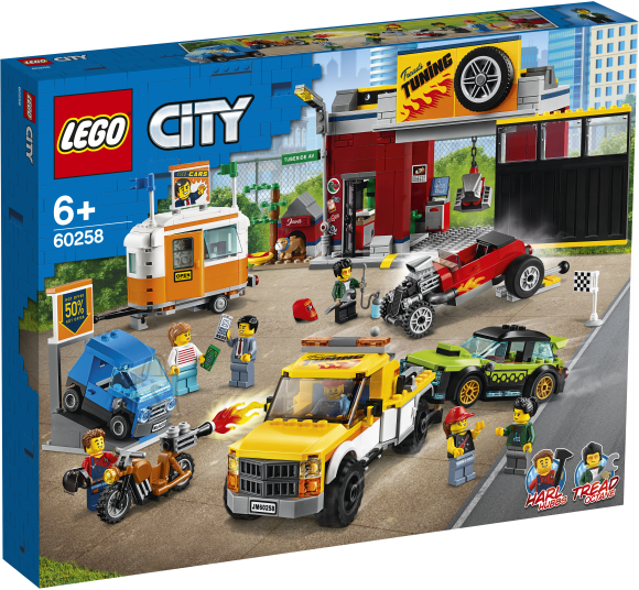 LEGO LEGO City Tuunimise töökoda