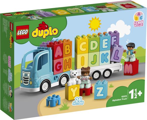 LEGO LEGO DUPLO Tähestikuauto
