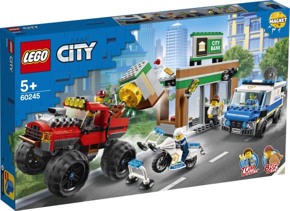 LEGO LEGO City Politsei hiigelveoki rööv
