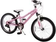"""Volare 20"""" tüdrukute jalgratas Elegance Junior Cross 6 käiku"""