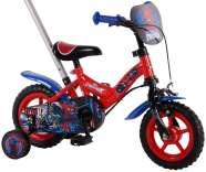 """Spiderman 10"""" lükkesangaga poiste jalgratas"""