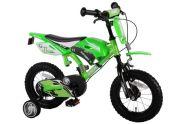 """Volare 12"""" poiste jalgratas Motobike Green"""