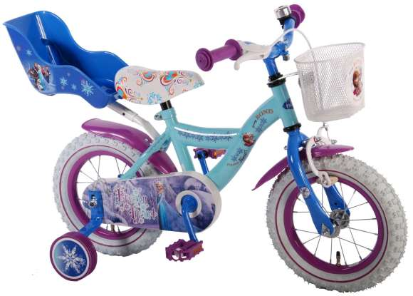 "Volare Tüdrukute jalgratas Disney Frozen 12"""