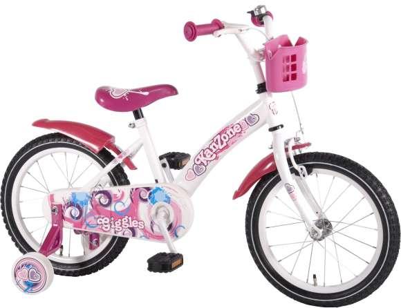 "Kanzone 16"" tüdrukute jalgratas Giggles"