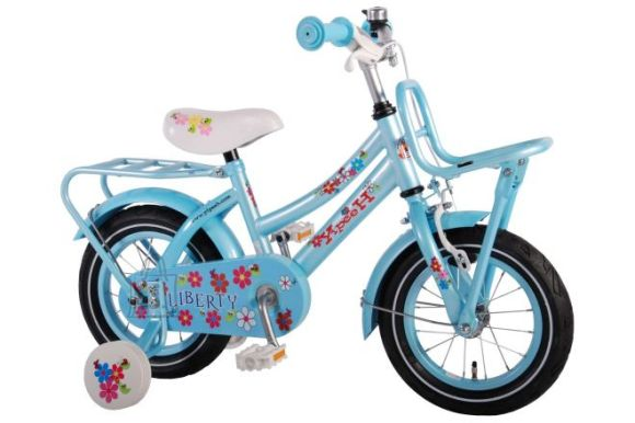 "Yipeeh 12"" tüdrukute jalgratas Liberty Urban Blue"