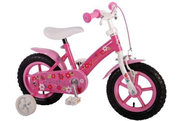 "Yipeeh 12"" tüdrukute jalgratas Flowerie"