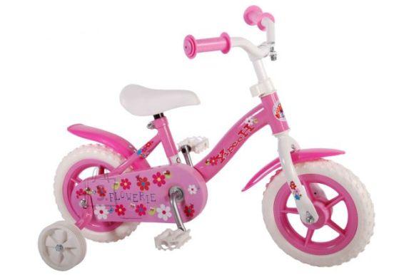 "Yipeeh 10"" tüdrukute jalgratas Flowerie"