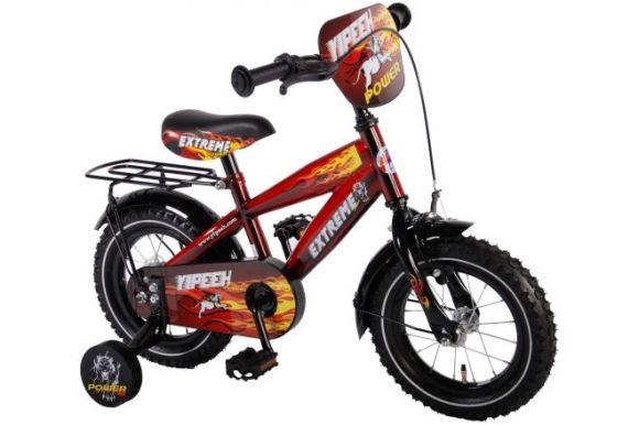 """Yipeeh 12"""" poiste jalgratas Extreme Red"""