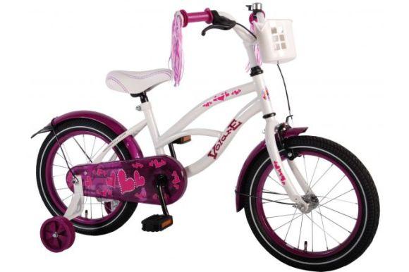 "Volare 16"" tüdrukute jalgratas Heartbeat Cruiser"