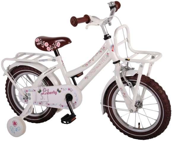 """Yipeeh tüdrukute jalgratas Liberty Urban 14"""" valge"""